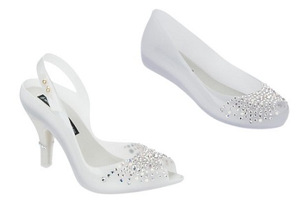 Calçados Melissa para noivas