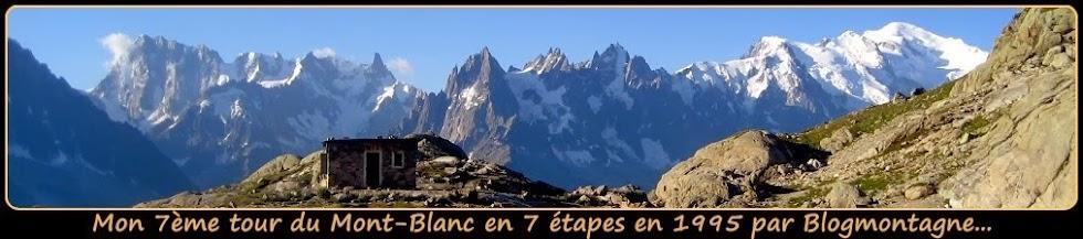 ➽ Le 7ème tour du Mont-Blanc (TMB) trek réalisé en 1995 par blogmontagne ~