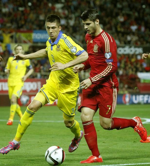 SPAIN FOOTBALL TEAM 2015