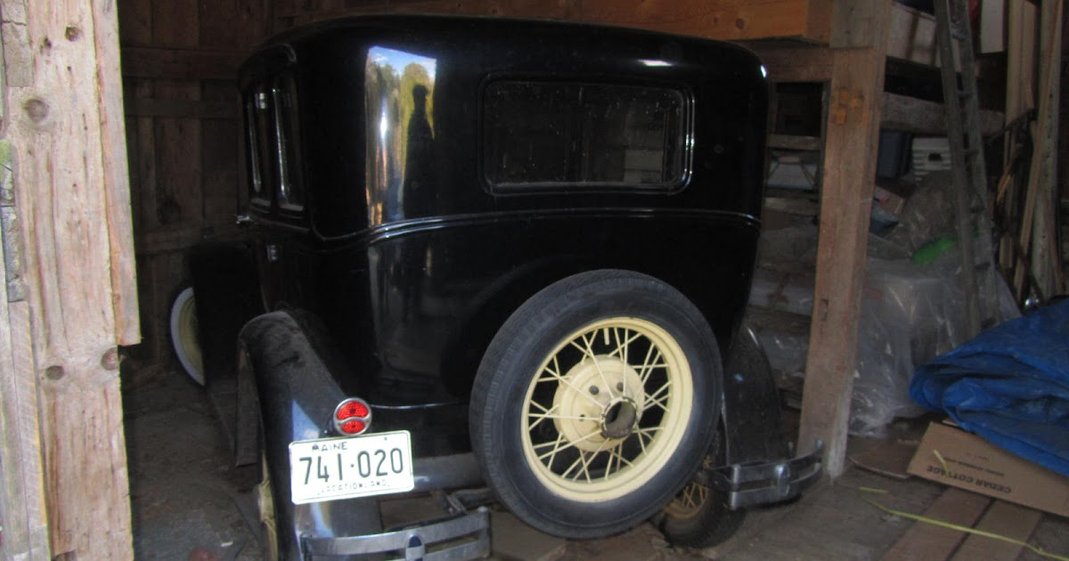 Autoliterate Maine Barn Find 2 Ford Model A Town Sedan