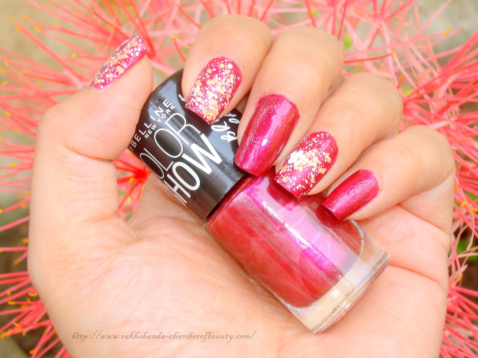 #SpringupyourSummer with Maybelline NY Rebel Bouquet Collection- Review, NOTD, price, Go Graffiti Color Show, Chamber of Beauty