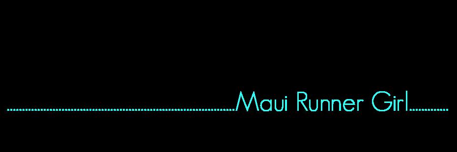Maui Runner Girl
