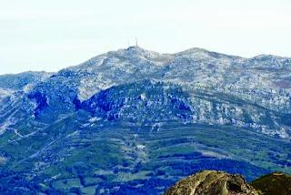 Teverga, ascensión al pico Ferreirúa, vista del Gamoniteiro