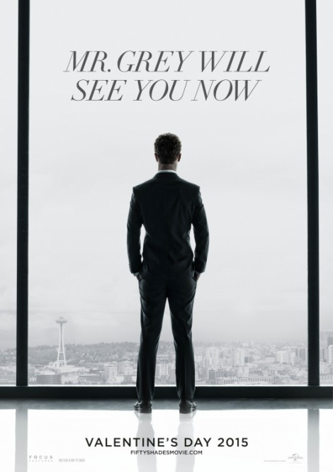 First 'Fifty Shades of Grey' Teaser Poster 2014