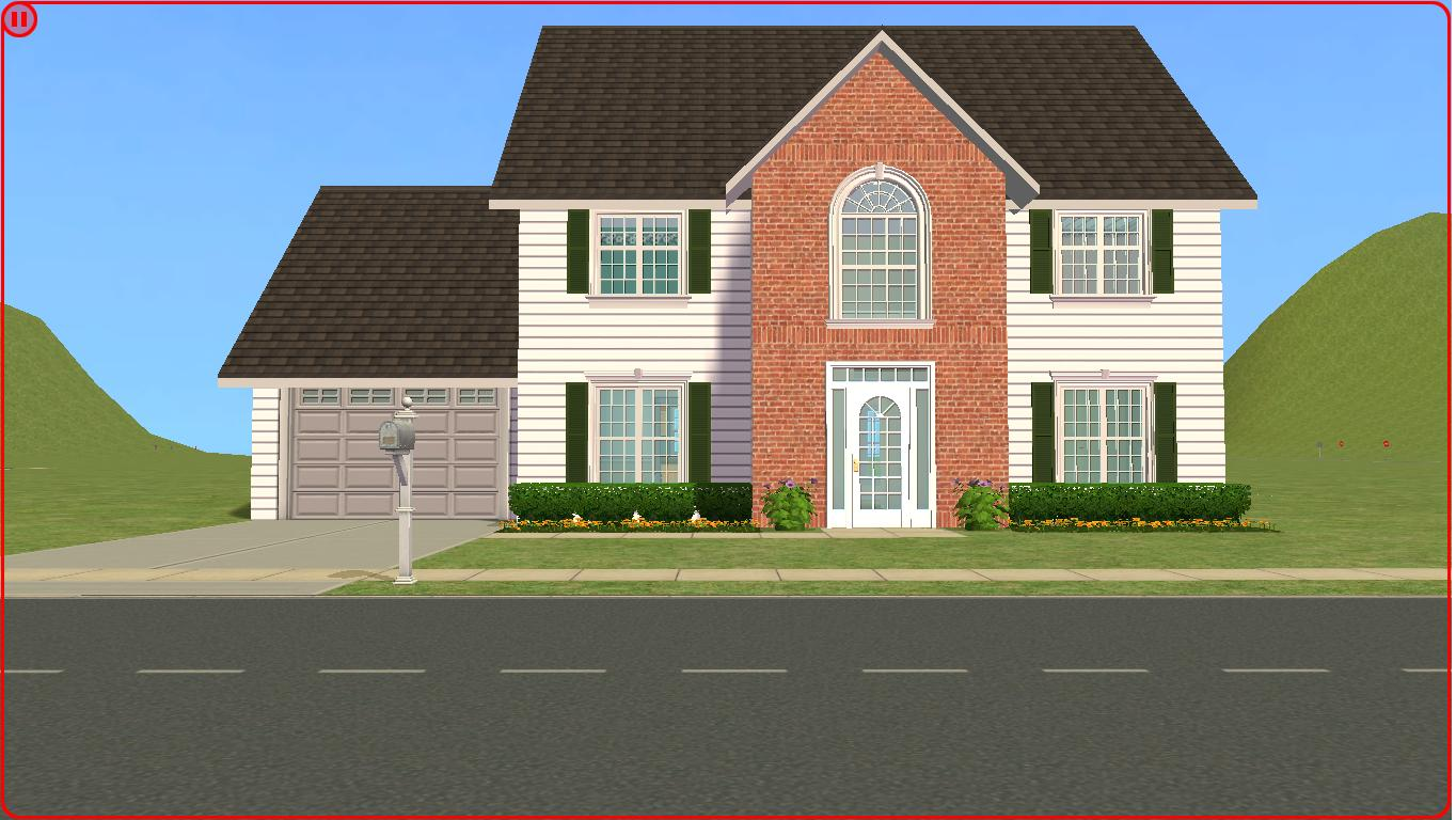 Sims 2 lot downloads 4 bedroom family house for A four bedroom house