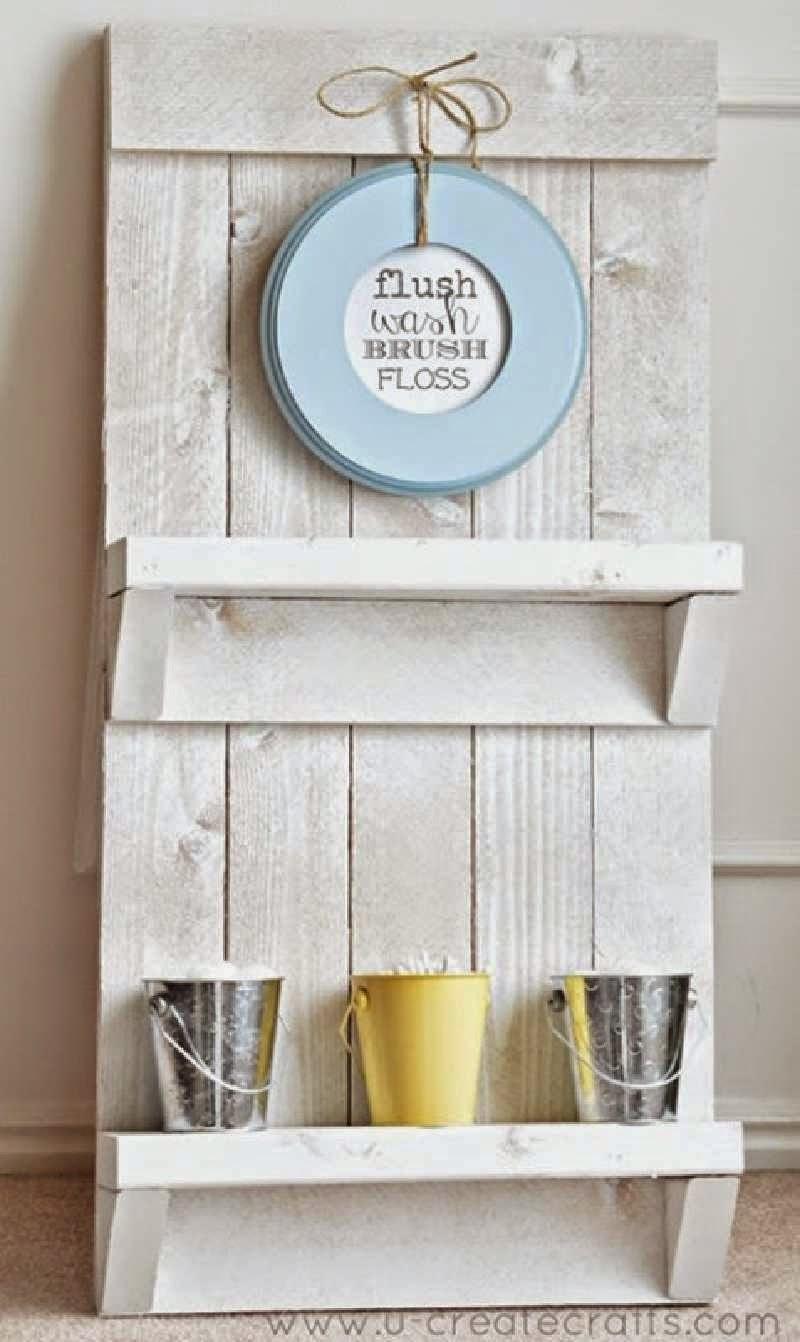 Hacer Estantes Para Baño: net: Instrucciones para realizar una estantería para el baño