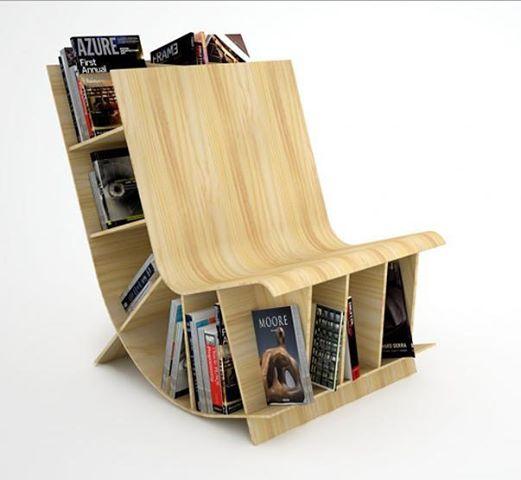 Etonnant Bookshelf Chair: Smart Design
