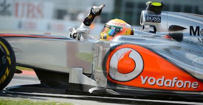 Lewis Hamilton Wins Canadian GP