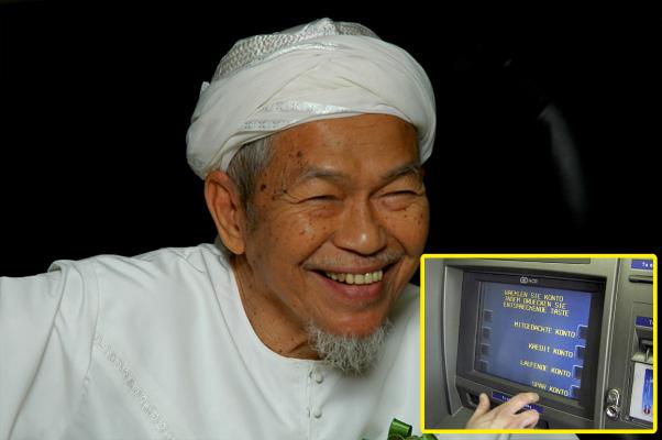 Kisah Almarhum Tok Guru Nik Aziz dan Akaun Giro