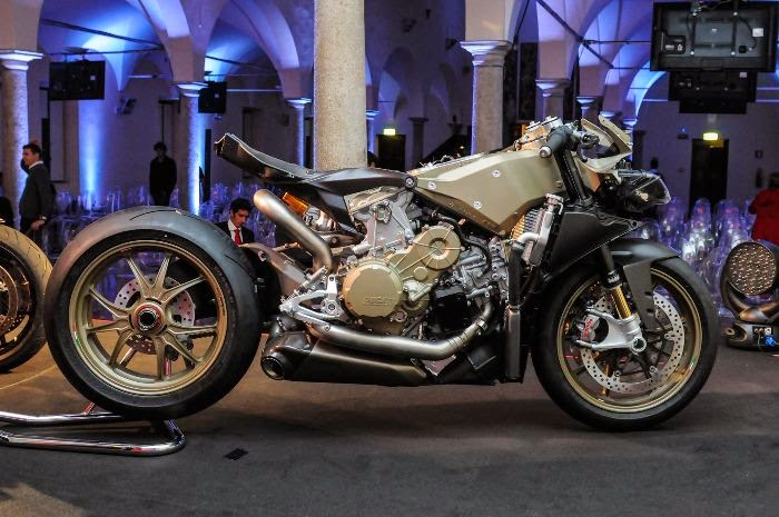 Mengenal lebih jauh sasis Monocoque pada keluarga Ducati Panigale  . . .