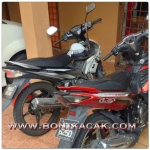 KELAJUAN SEBENAR YAMAHA 135 LC, TOP SPEED YAMAHA 135 LC 4 SPEED FIRST MODEL BATCH KEDUA, TOP SPEED YAMAHA 135 LC 4 SPEED FIRST MODEL SECOND BATCH
