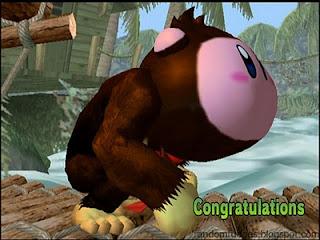 kirby melee allstar congratulations