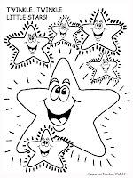 Mewarnai Gambar Kartun Bintang