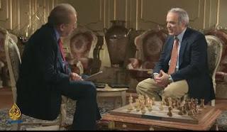 Echecs: Frost et Kasparov