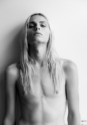 Andrej Pejic(born August 28, 1991 in Tuzla, Bosnia and Herzegovina), the androgynous male model who refers to the world's frequent confusion about his gender as
