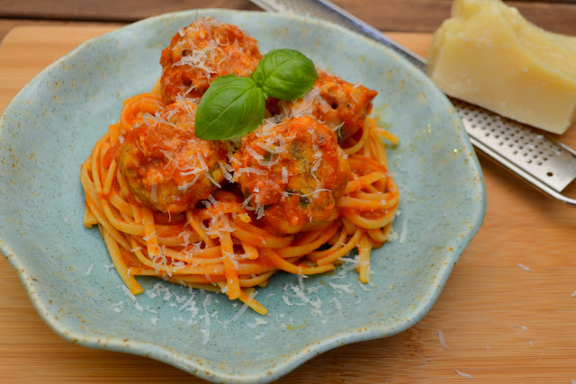 turkey meatballs with linguini recipe