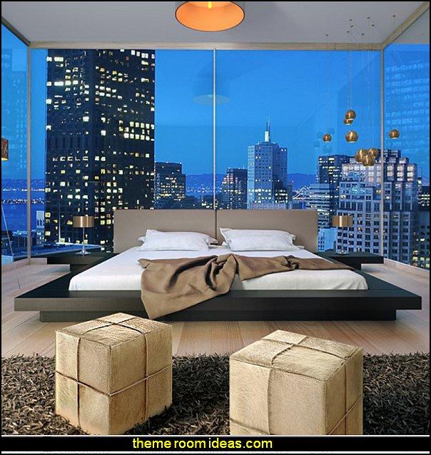 Worth Platform Bed Upholstered