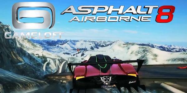 Asphalt 8 Airborne v2.0.0j F ull Türkçe Para Hileli Apk İndir