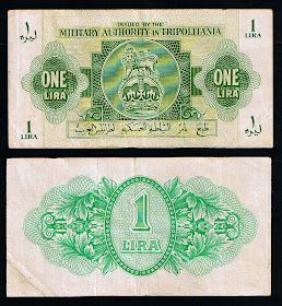 العملة الايطالية فى ليبيا فترة الإحتلال