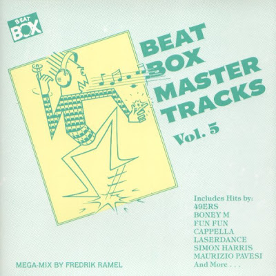 Beat Box Master Tracks Vol. 5 (1990) (non-stop italo disco house mix) various artists 80's 90's