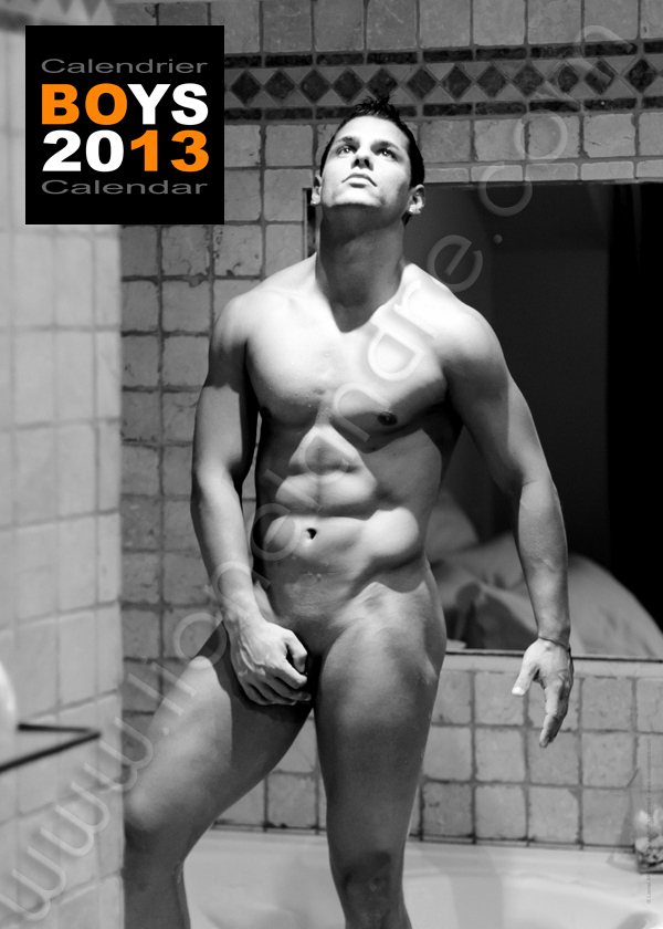 Anthony • 'BOYS 2013' Calendar by Lionel André