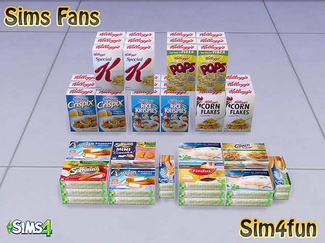 My Sims 4 Blog: Supermarket Set by Sim4Fun
