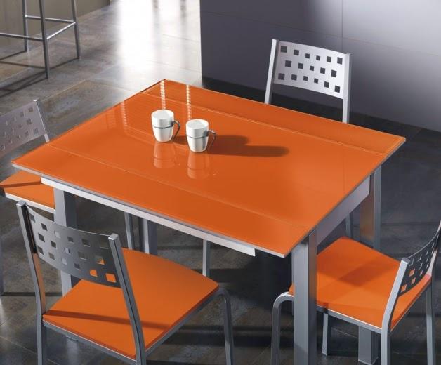 precio mesa naranja