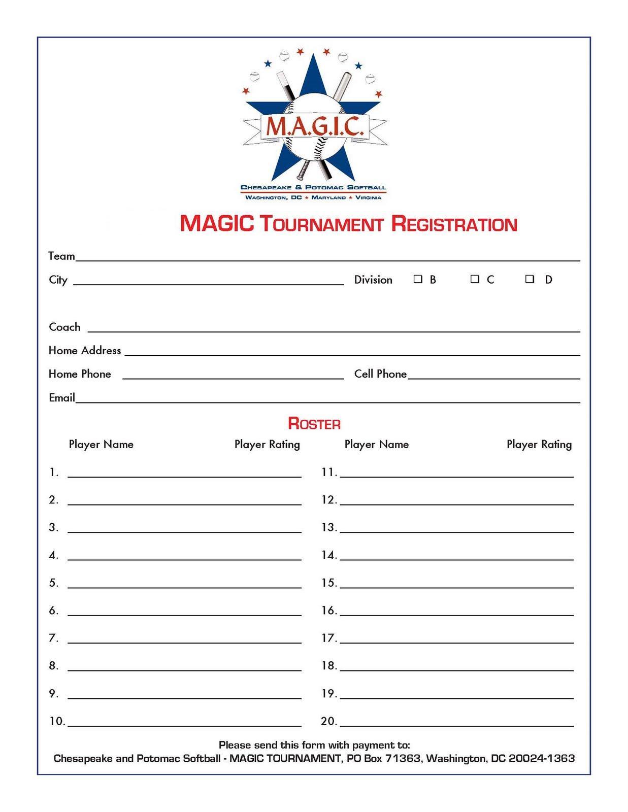sample resume basketball registration form template birthdayessay. Black Bedroom Furniture Sets. Home Design Ideas