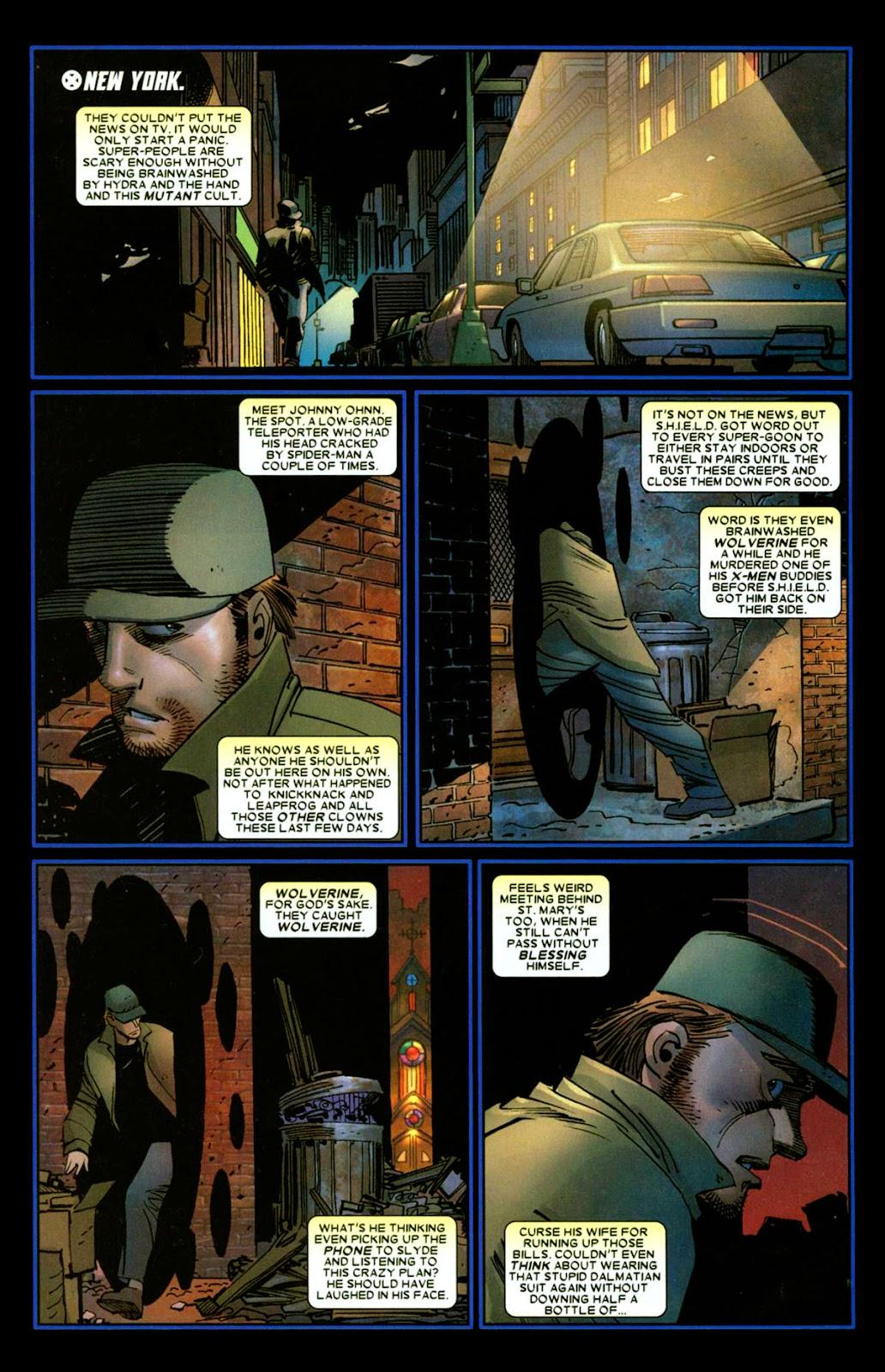 Read online Wolverine (2003) comic -  Issue #26 - 10