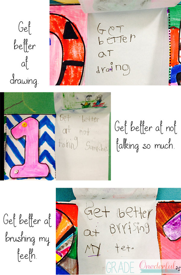 Grade One Goals for the New Year