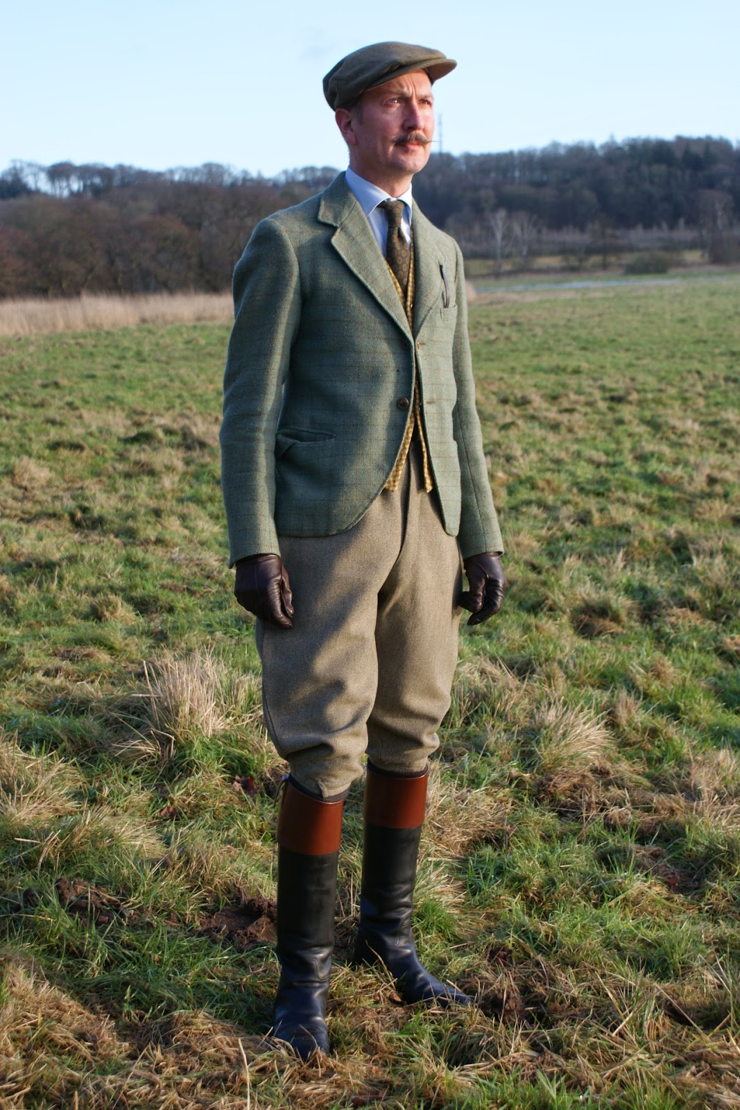 The Danish Chap's Attire Chronicles: Riding boots; a walk ...