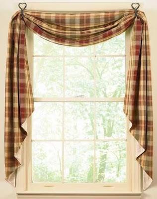 Fotos de cortinas para cocinas cocina y muebles - Cortinas para cocinas rusticas ...