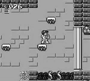 There Were Many Improvements Over The Original Kid Icarus In Of Myths And Monsters Despite Being A Black White Grey Scale Graphics Are Much