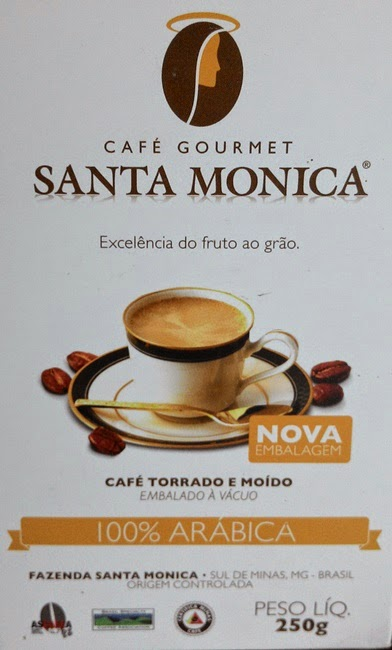 Recebido, Café, Café Gourmet Santa Monica, Resenha, Preto,