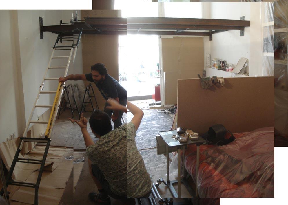 Como hacer un altillo de madera best altillo para - Como hacer una escalera plegable para altillo ...