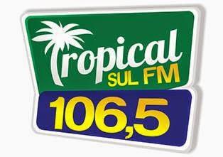 Rádio Tropical Sul FM de Salto do Lontra PR ao vivo