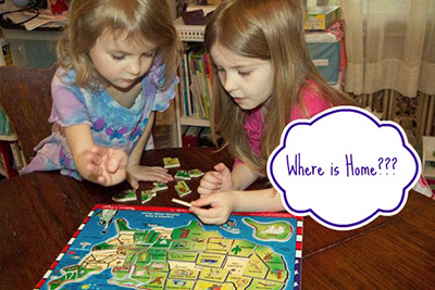 Where Do We Live? #kids #activity via @Gummylump
