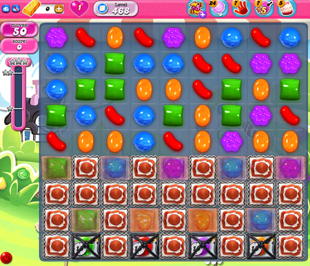 Candy Crush Saga 468