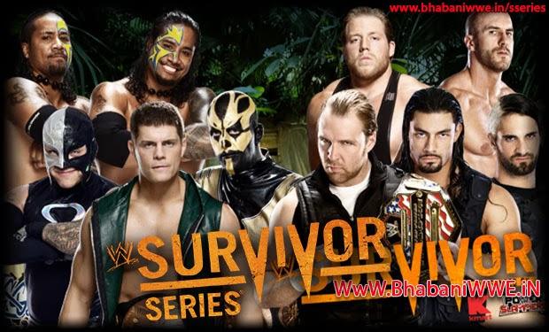 Survivor Series Spoilers 2014