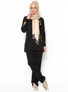 Model pakaian olahraga wanita muslim modern modis trendy