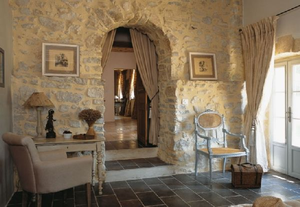 Stone Walls French Country Interiors