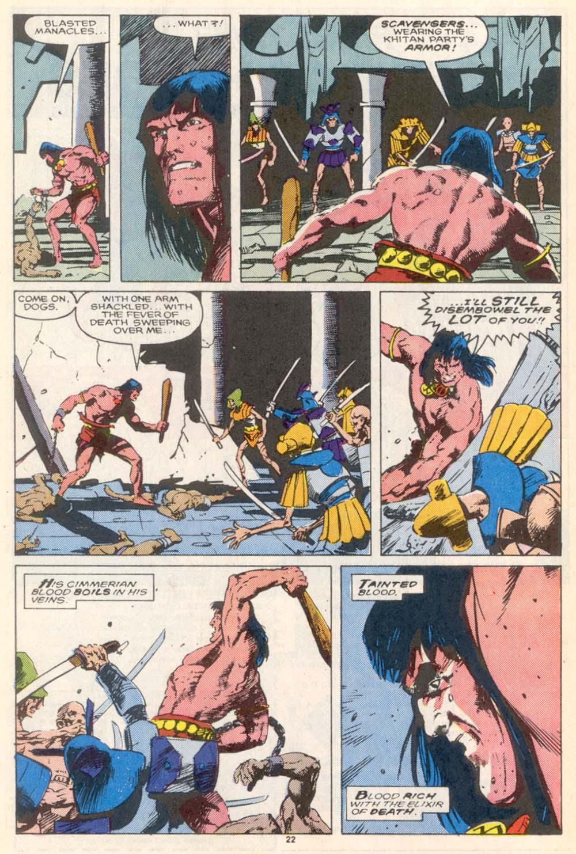 Conan the Barbarian (1970) Issue #208 #220 - English 18