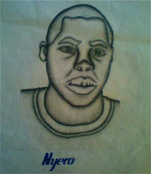 Nyero Christopher self portrait