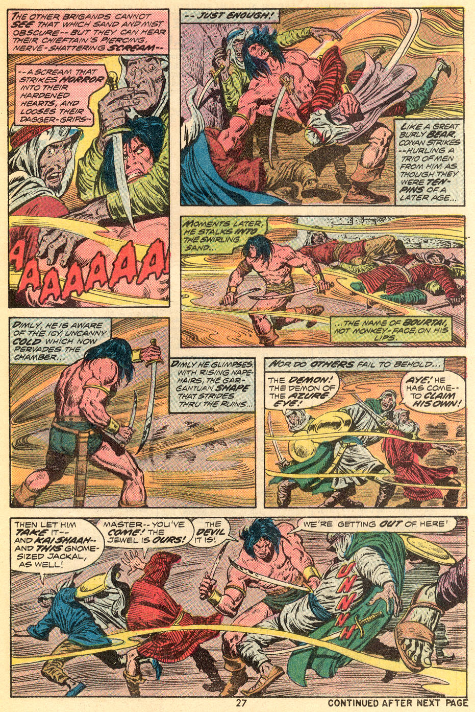 Conan the Barbarian (1970) Issue #35 #47 - English 16
