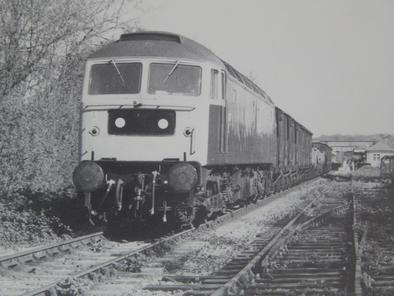 BR freight at exchange sidings