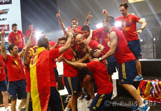 camiseta conmemorativa selección española Eurocopa 2012