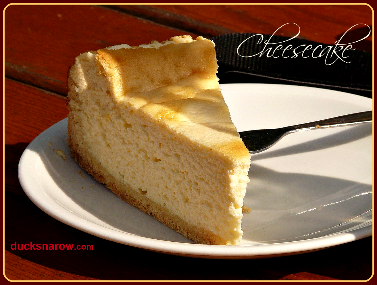 Classic Cheesecake Recipe - Ducks 'n a Row