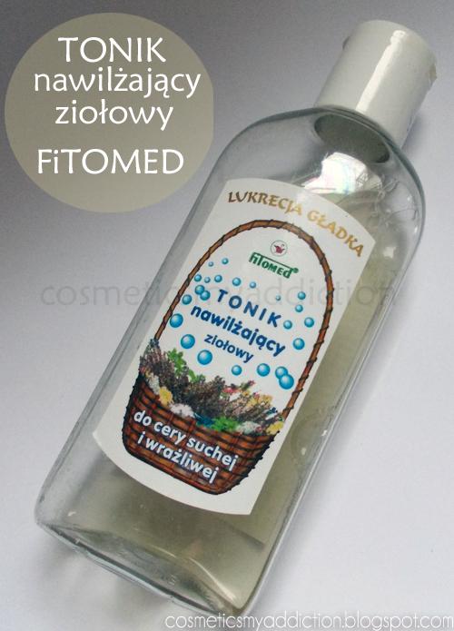 Fitomed, tonik nawilżający do cery suchej i wrażliwej, Lukrecja Gładka