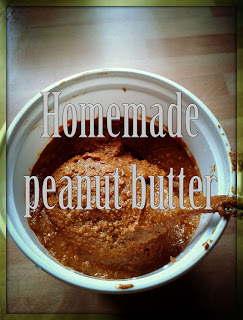How to make your own peanut butter. Step by step guide