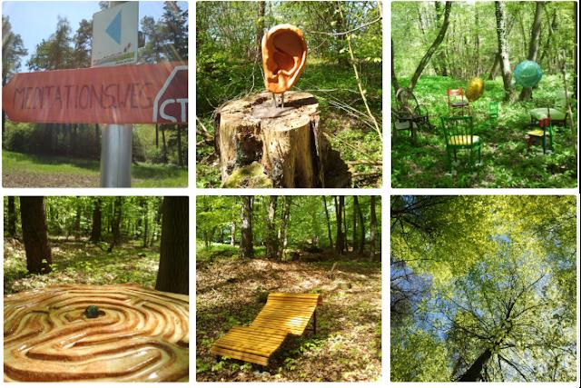 Meditationsweg: Sonne satt und Natur erleben